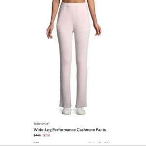 NWT Tory Burch Cashmere lounge pants medium